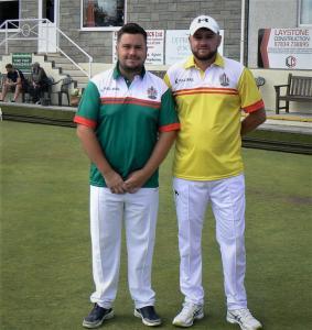 Owain Dando and Jonathan Tomlinson MWE Open Semifinalists